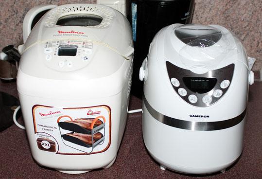 Хлебопечь CAMERON CB-4407 и Moulinex 5004